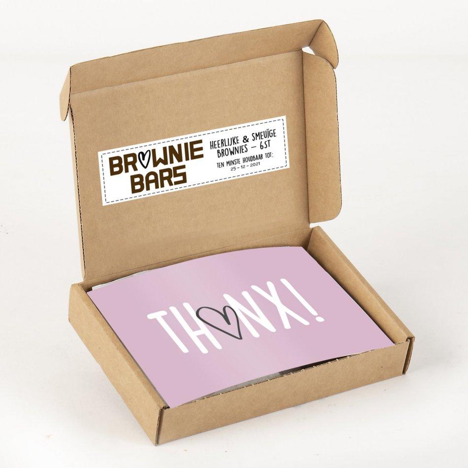THANX! Brownies